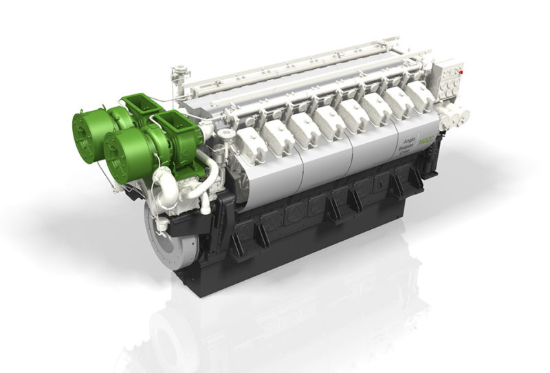 2 x 16DZC Main Engines