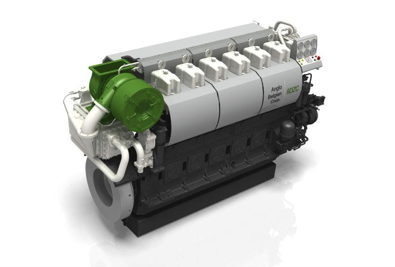 2 x 6DZC Engines