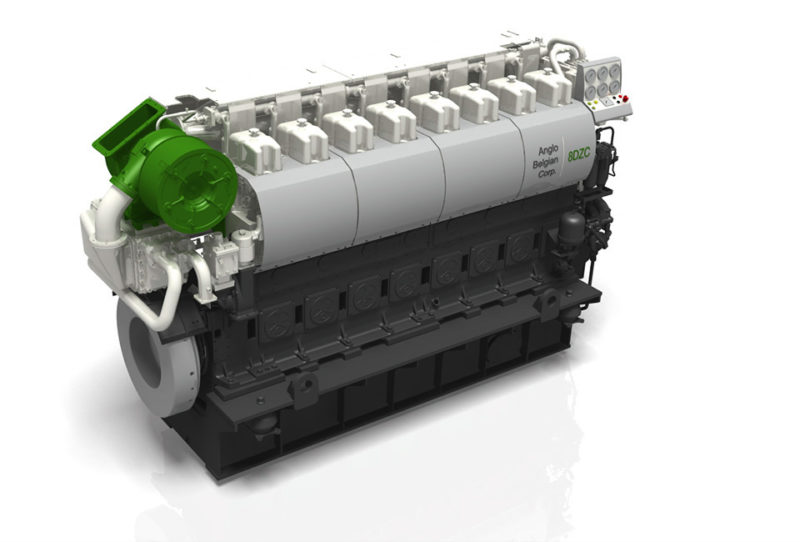 2 x 8DZC Main Engines